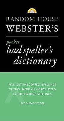 Webster's Pocket Bad Speller's Dictionary by Random House image