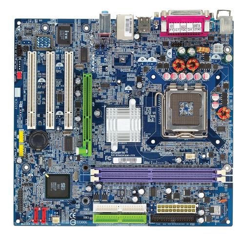 Gigabyte Motherboard LGA775 GA-8S661FXM-775