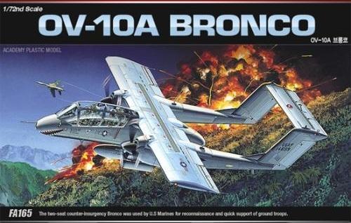 Academy OV-10 Bronco 1/72 Model Kit image
