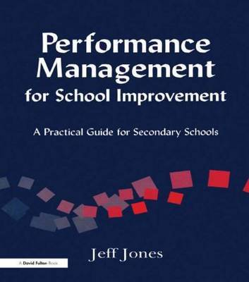 Performance Management for School Improvement by Jeff Jones image