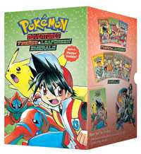 Pokemon Adventures Fire Red & Leaf Green / Emerald Box Set by Hidenori Kusaka