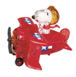 Crystal Puzzle - Snoopy Red Baron
