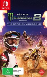 Monster Energy Supercross - The Official Videogame 2 for Switch