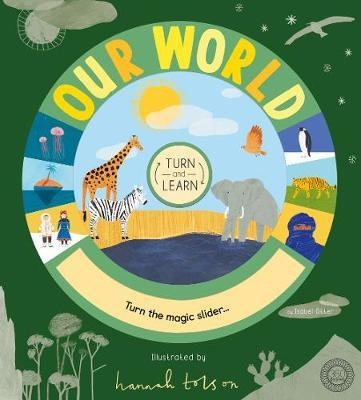 Turn and Learn: Our World by Isabel Otter image