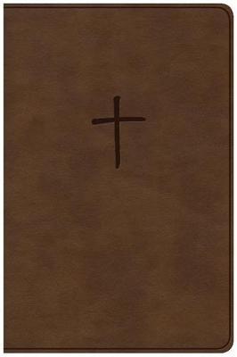 CSB Compact Bible, Brown Leathertouch, Value Edition by Csb Bibles by Holman