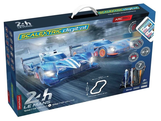 Scalextric: ARC PRO (24h Lemans) - Slot Car Set