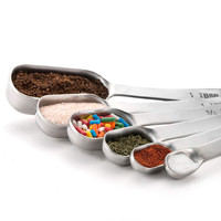 Ape Basics: Stainless Steel Measuring Cups & Spoons (Set of 13)