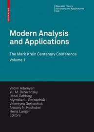 Modern Analysis and Applications image