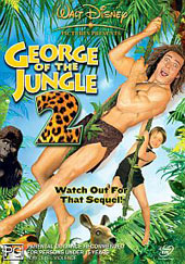 George of the Jungle 2 on DVD