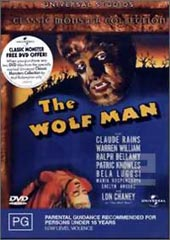 The Wolf Man on DVD