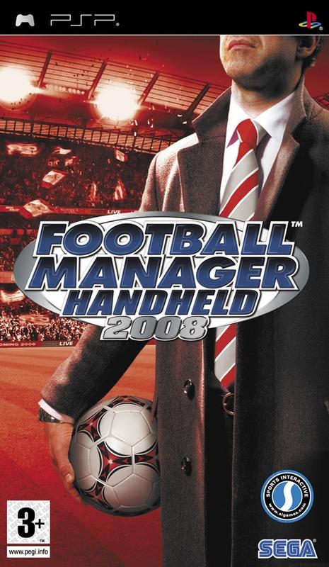 Football Manager Handheld 2008 for PSP