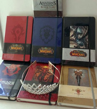 Warcraft Ruled Journal - Horde Red (Large) by Blizzard Entertainment image
