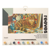 Reeves: Paint by Numbers - Resting Cat (Large)