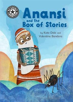 Reading Champion: Anansi and the Box of Stories by Katie Dale image