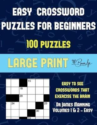 Easy Crossword Puzzles for Beginners (Vols 1 & 2 - Easy