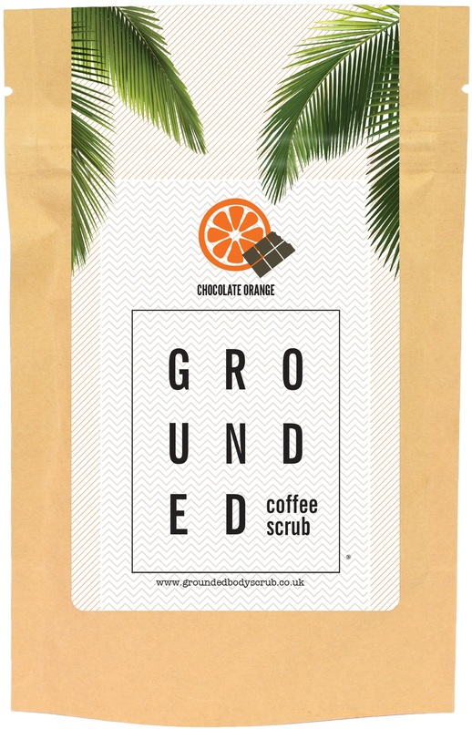 Grounded Body Scrub - Chocolate Orange Coffee (200g)