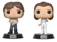 Star Wars: Han & Leia - Pop! Vinyl 2-Pack image