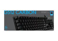 Logitech G512 Carbon LIGHTSYNC RGB Mechanical Gaming Keyboard - Linear for PC
