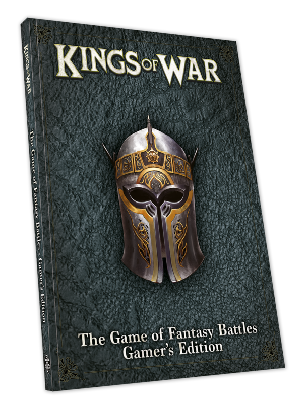 Kings of War: 3rd Edition Gamer's Rulebook