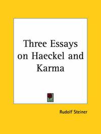 three essays on