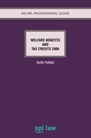 Welfare Benefits and Tax Credits by Keith Puttick
