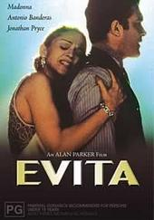 Evita on DVD