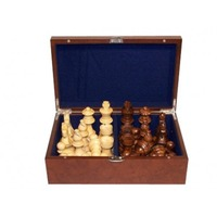 Dal Rossi Chess Piece Box with 85mm Pieces