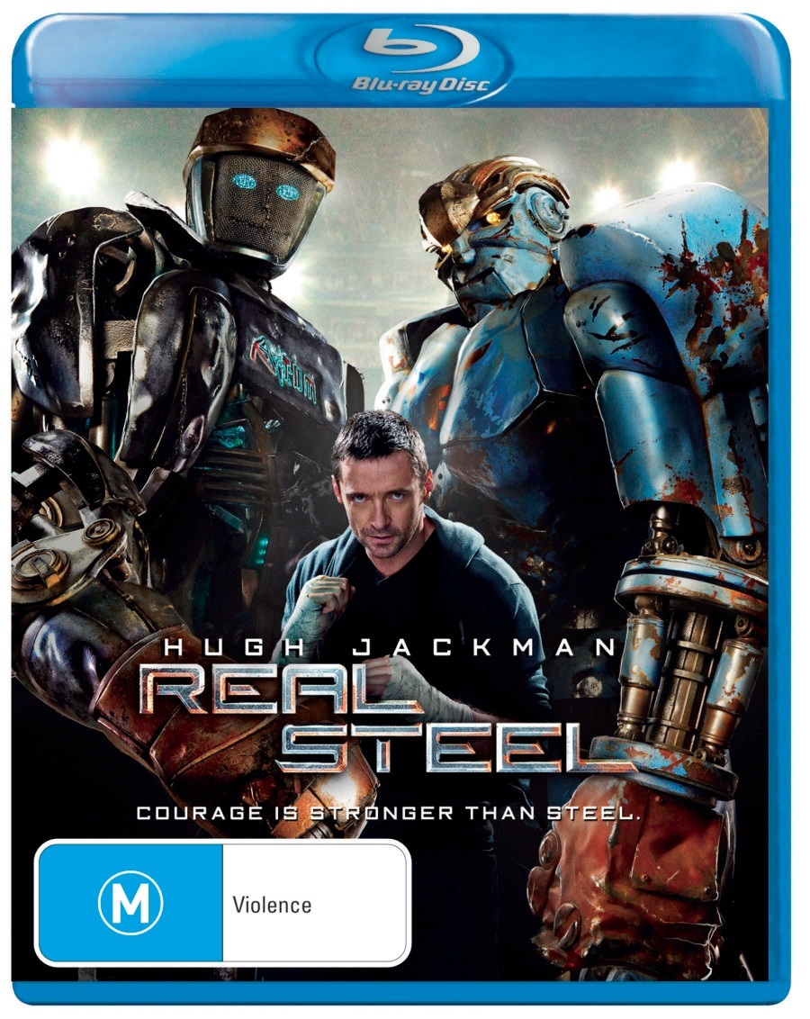 Real Steel on Blu-ray image