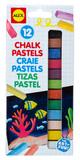 Alex: Chalk Pastels - 12 Piece