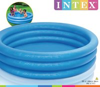 Intex: 3-Ring Paddling Pool - Crystal Blue