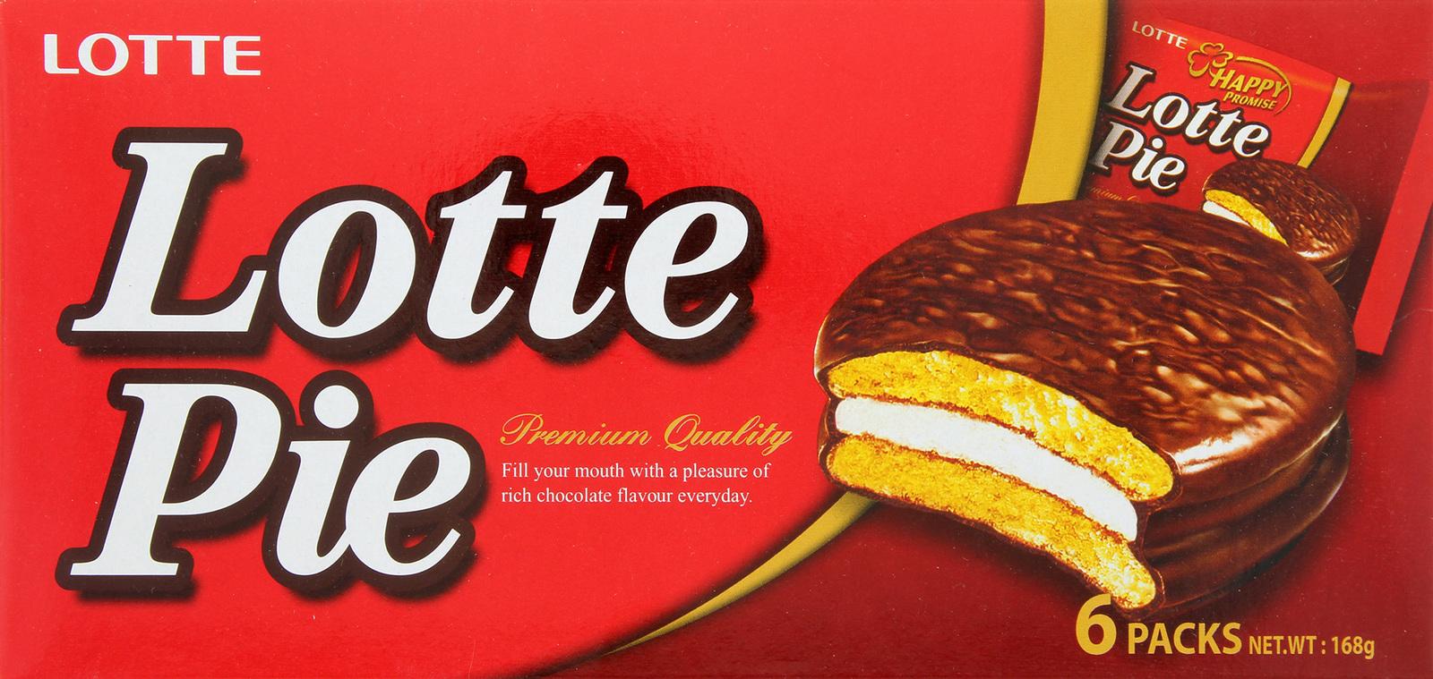 Lotte Choco Pie (6pk) image