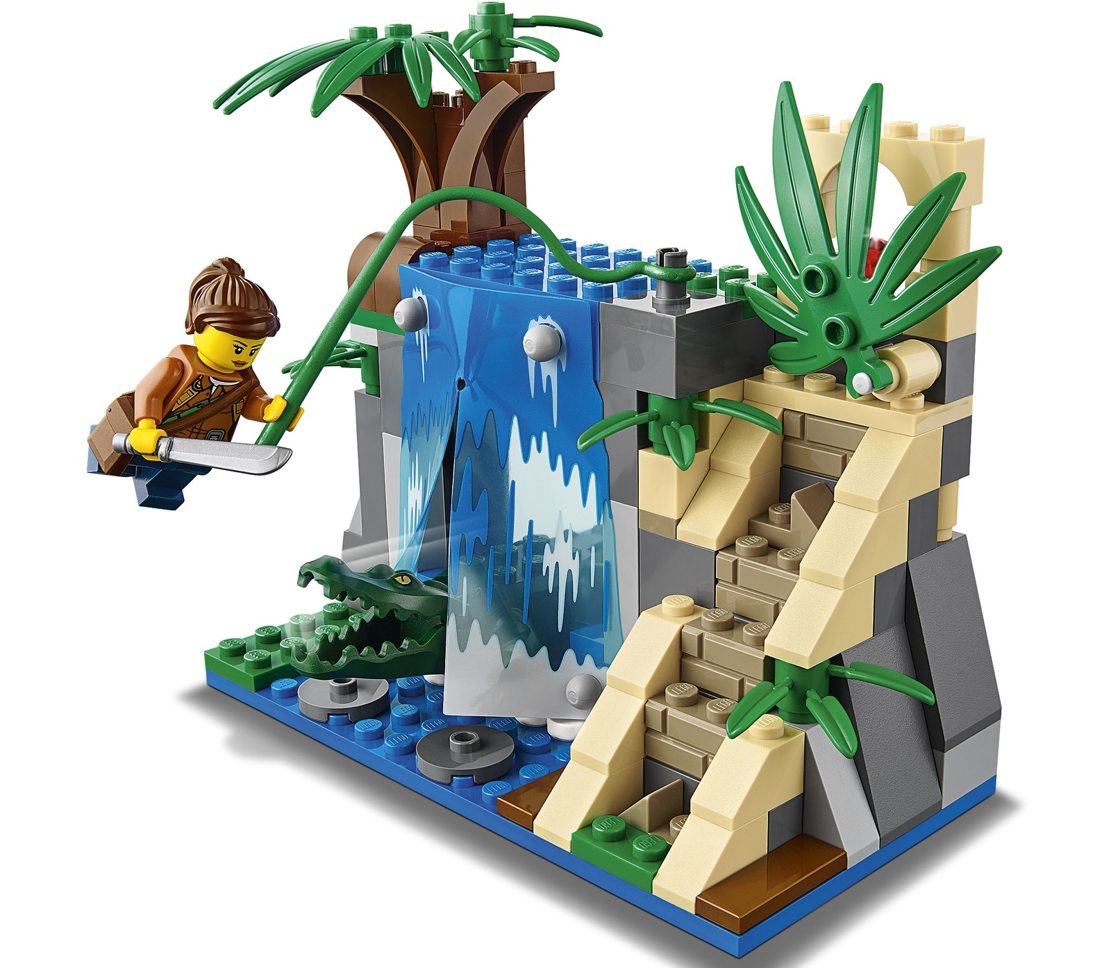 Lego City Jungle Mobile Lab 60160 Toy At Mighty Ape