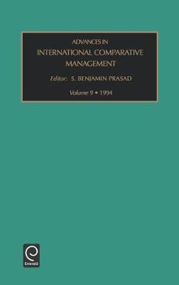 Advances in International Comparative Management image