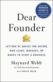 Dear Founder by Carlye Adler image