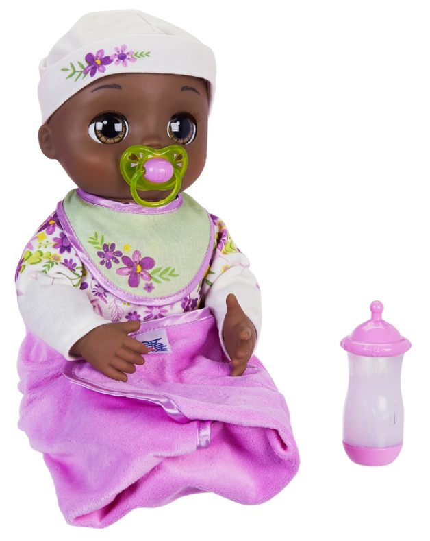 Baby Alive: Real As Can Be Baby Doll - (Black Sculpted Hair)