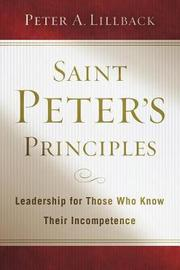 Saint Peter's Principles by Peter A. Lillback