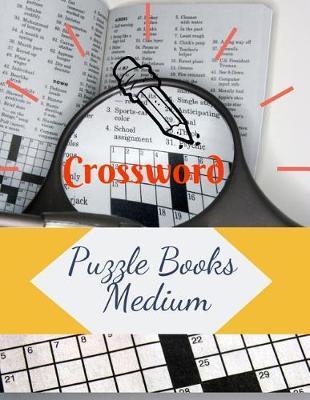 Crossword Puzzle Books Medium by Samurel M Kardem