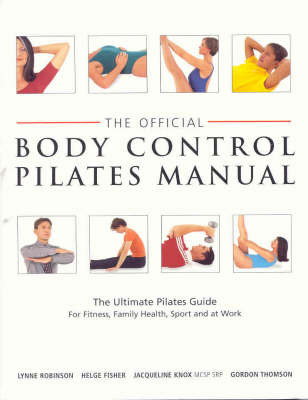 Official Body Control Pilates Manual by Lynne Robinson image