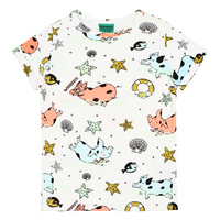 Raspberry Republic: Short Sleeve T-Shirt Piggy Paradise (Size 7) image