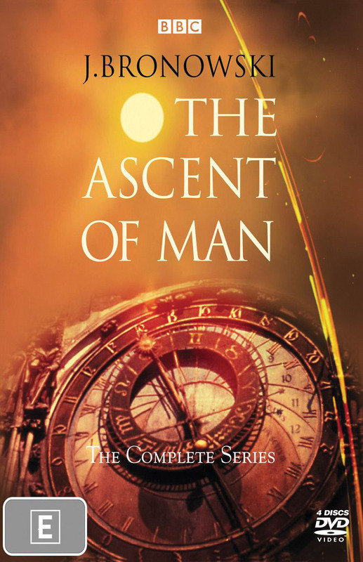 Ascent Of Man: Complete Series, The (4 Disc) on DVD