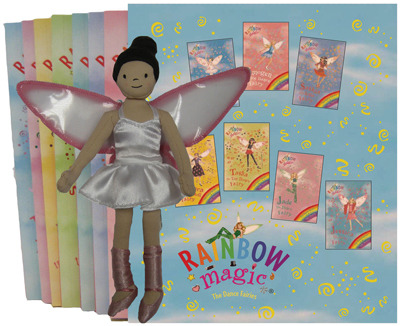 Rainbow Magic Box Set: Dance Fairies with Bethany doll