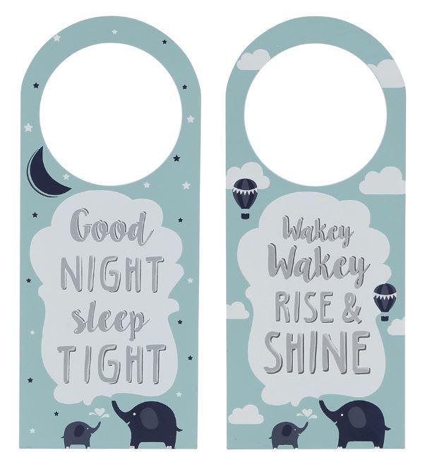 Reversible Door Hanger For Baby - Light