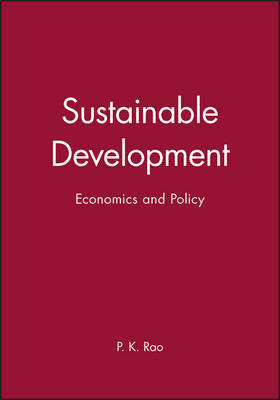 Sustainable Development by Pinninti Krishna Rao