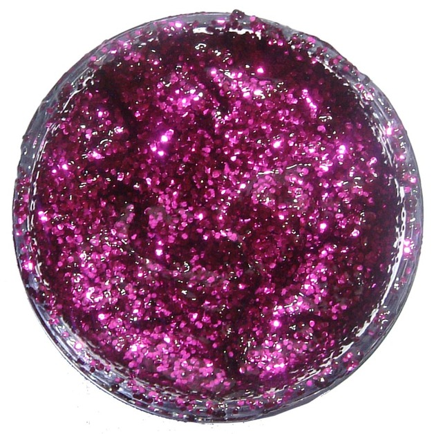 Snazaroo Glitter Gel - Fuchsia Pink (12ml)
