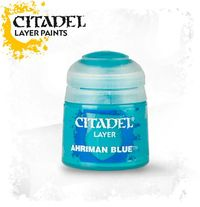 Citadel Layer Paint: Ahriman Blue (12ml)