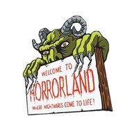 Goosebumps - Horrorland Pin