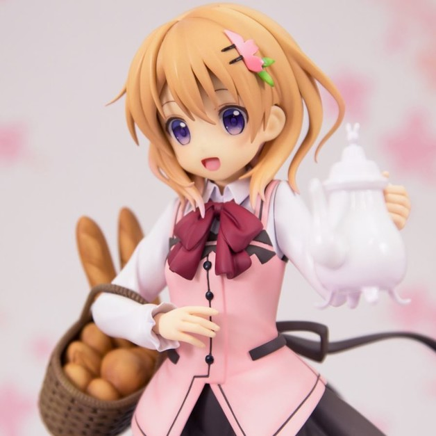 Is The Order A Rabbit???: 1/7 Cocoa (Cafe Style) - PVC Figure