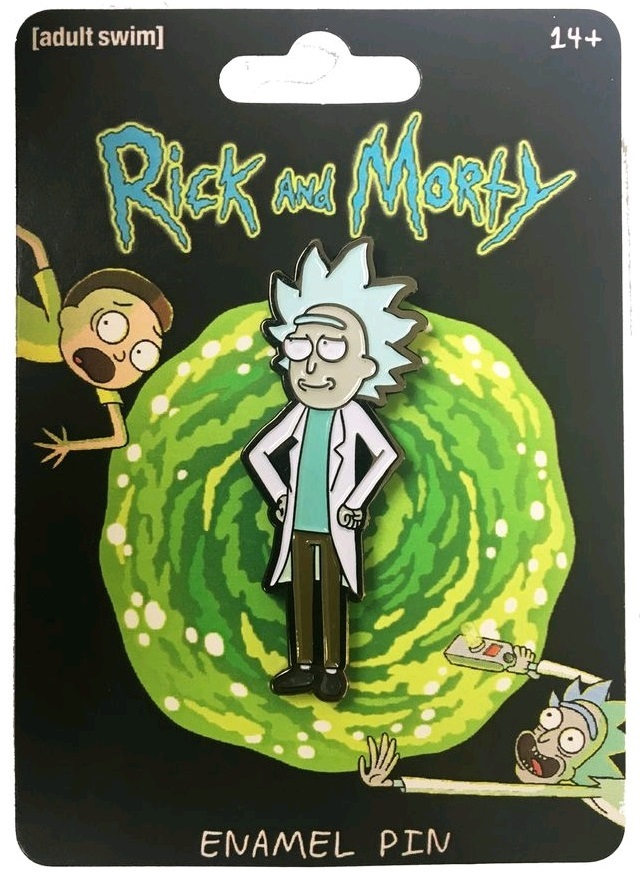 Rick & Morty - Tiny Rick Enamel Pin image