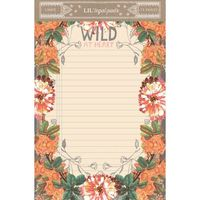 Papaya: Wild at Heart Little Pad