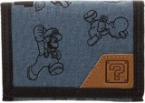 Super Mario - Fabric Trifold Wallet